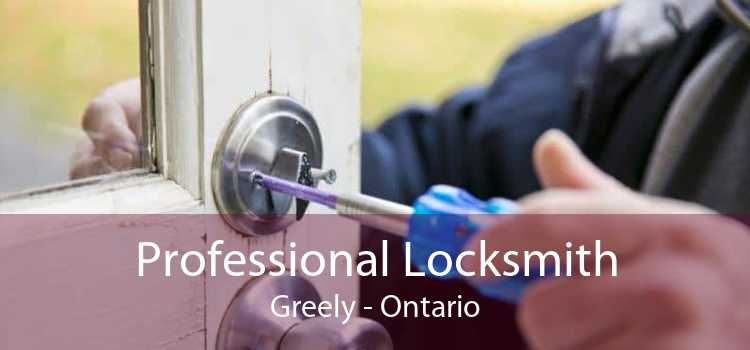 Professional Locksmith Greely - Ontario